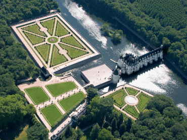 Loire Valley Chateaus Day trip 3 Chateaus Chenonceau, Amboise, Vinci Castle & Caves Ambacia wine tour/tasting - Tue & Fri